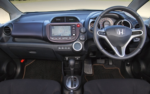 тест драйв Honda Fit Jazz 2009