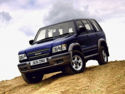 Тест-драйв Isuzu Trooper 1998-2002