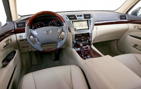 Полный тест-драйв нового Lexus LS 600h L (2008-ого года)