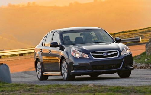 Тест-драйв Subaru Legacy 2010 B4 2.5GT