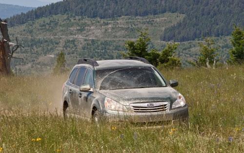Тест-драйв  Subaru Outback 2010