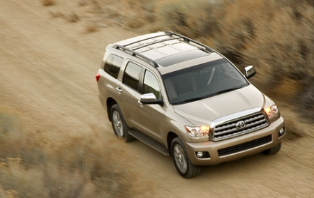 Тест-драйв Toyota Sequoia Limited 4x4 (2008-ого года)